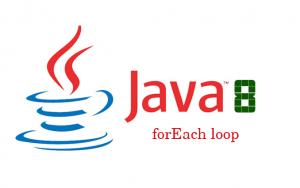 Phương thức forEach() trong java 8